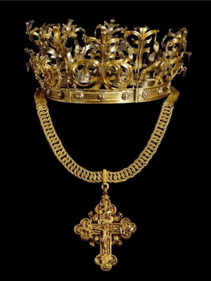 Crown 2 Bridal Crown and reliquary cross 1500- 1520